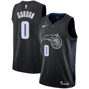 Men's Aaron Gordon Orlando Magic Nike Swingman Black 2018/19 Jersey - City Edition