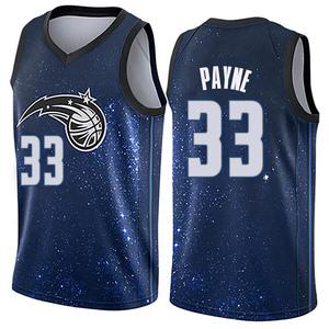 Men's Adreian Payne Orlando Magic Nike Swingman Blue Jersey - City Edition