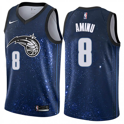 Men's Al-Farouq Aminu Orlando Magic Nike Swingman Blue Jersey - City Edition