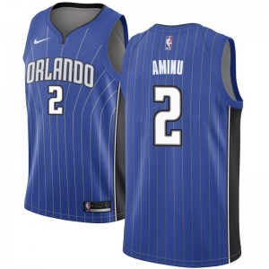 Men's Al-Farouq Aminu Orlando Magic Nike Swingman Royal Jersey - Icon Edition