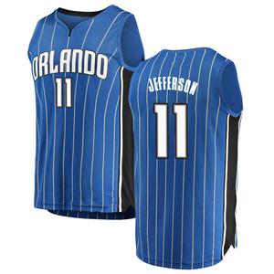 Men's Amile Jefferson Orlando Magic Fanatics Branded Swingman Blue Fast Break Jersey - Icon Edition