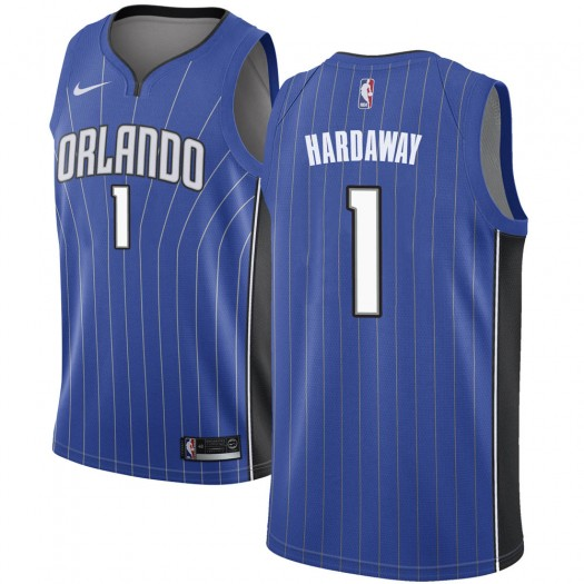 Men's Anfernee Hardaway Orlando Magic Nike Swingman Royal Jersey - Icon Edition