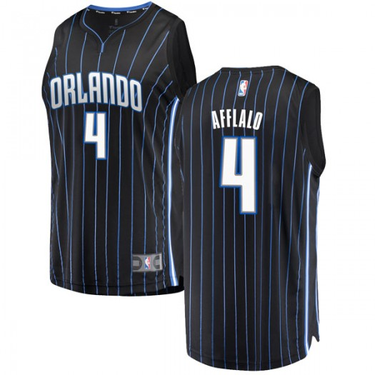 Men's Arron Afflalo Orlando Magic Fanatics Branded Swingman Black Fast Break Jersey - Statement Edition