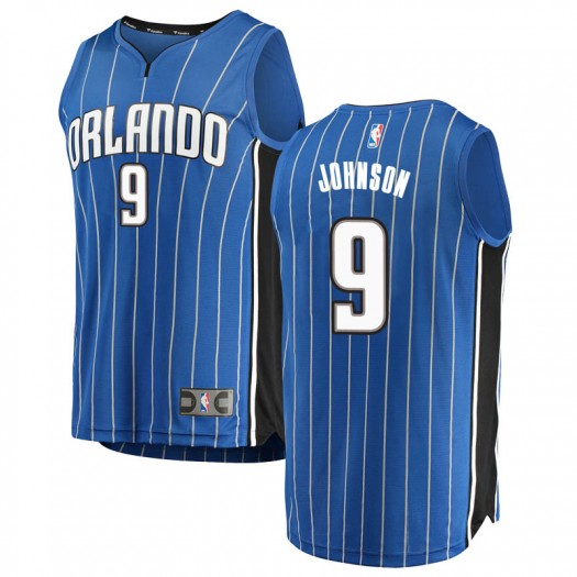 Men's B.J. Johnson Orlando Magic Fanatics Branded Swingman Blue Fast Break Jersey - Icon Edition