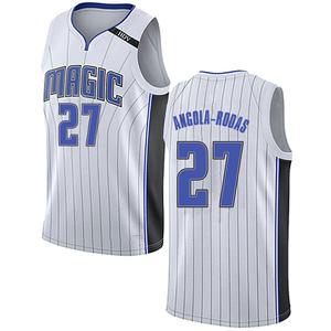Men's Braian Angola-Rodas Orlando Magic Nike Swingman White Jersey - Association Edition