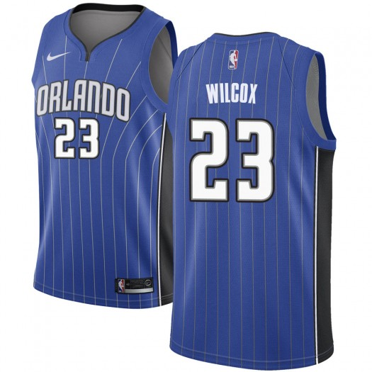 Men's C.J. Wilcox Orlando Magic Nike Swingman Royal Jersey - Icon Edition