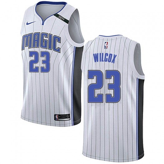 Men's C.J. Wilcox Orlando Magic Nike Swingman White Jersey - Association Edition