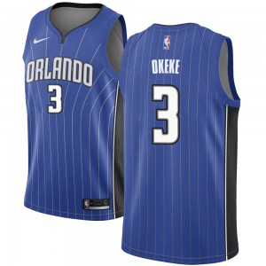 Men's Chuma Okeke Orlando Magic Nike Swingman Royal Jersey - Icon Edition