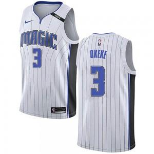 Men's Chuma Okeke Orlando Magic Nike Swingman White Jersey - Association Edition