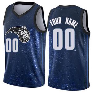 Men's Custom Orlando Magic Nike Swingman Blue Jersey - City Edition