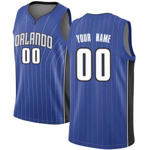 Men's Custom Orlando Magic Nike Swingman Royal Jersey - Icon Edition