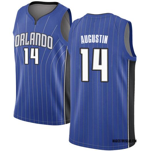 Men's D.J. Augustin Orlando Magic Nike Swingman Royal Jersey - Icon Edition