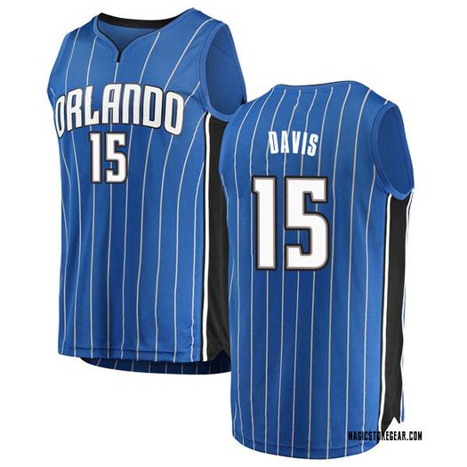Men's Devin Davis Orlando Magic Fanatics Branded Swingman Blue Fast Break Jersey - Icon Edition