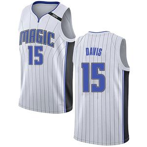 Men's Devin Davis Orlando Magic Nike Swingman White Jersey - Association Edition