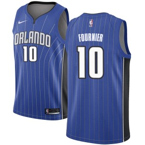 Men's Evan Fournier Orlando Magic Nike Swingman Royal Jersey - Icon Edition