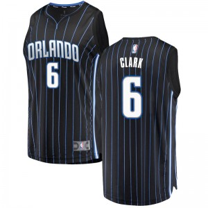 Men's Gary Clark Orlando Magic Fanatics Branded Swingman Black Fast Break Jersey - Statement Edition