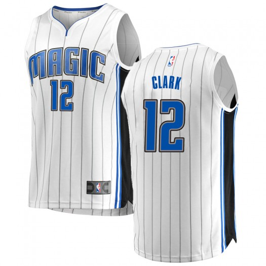 Men's Gary Clark Orlando Magic Fanatics Branded Swingman White Fast Break Jersey - Association Edition