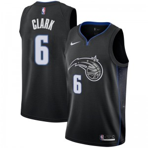 Men's Gary Clark Orlando Magic Nike Swingman Black 2018/19 Jersey - City Edition