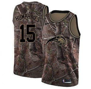 Men's Isaac Humphries Orlando Magic Nike Swingman Camo Realtree Collection Jersey