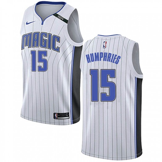 Men's Isaac Humphries Orlando Magic Nike Swingman White Jersey - Association Edition