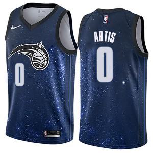 Men's Jamel Artis Orlando Magic Nike Swingman Blue Jersey - City Edition