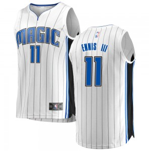 Men's James Ennis III Orlando Magic Fanatics Branded Swingman White Fast Break Jersey - Association Edition
