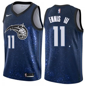 Men's James Ennis III Orlando Magic Nike Swingman Blue Jersey - City Edition