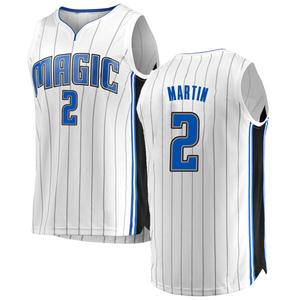 Men's Jarell Martin Orlando Magic Fanatics Branded Swingman White Fast Break Jersey - Association Edition