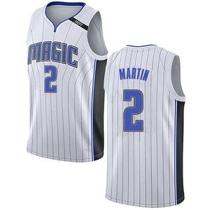 Men's Jarell Martin Orlando Magic Nike Swingman White Jersey - Association Edition