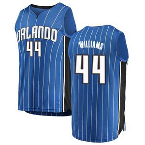 Men's Jason Williams Orlando Magic Fanatics Branded Swingman Blue Fast Break Jersey - Icon Edition