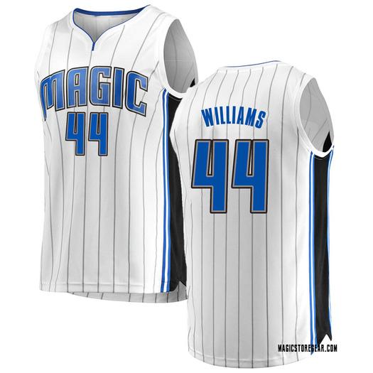Men's Jason Williams Orlando Magic Fanatics Branded Swingman White Fast Break Jersey - Association Edition