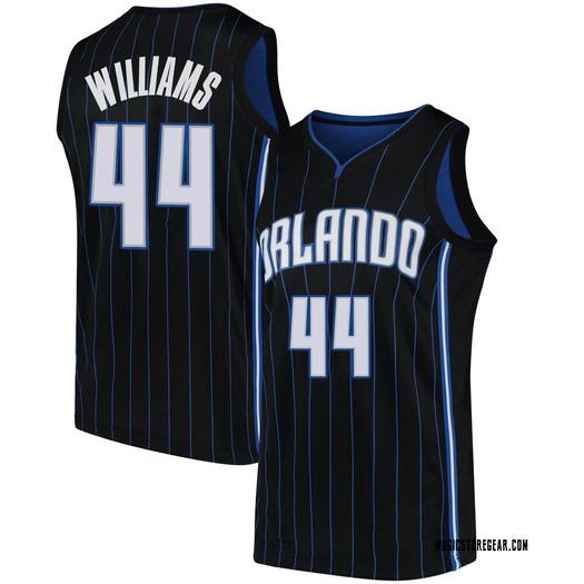 Men's Jason Williams Orlando Magic Nike Swingman Black Jersey - Statement Edition