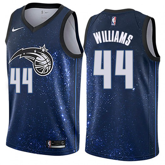 Men's Jason Williams Orlando Magic Nike Swingman Blue Jersey - City Edition