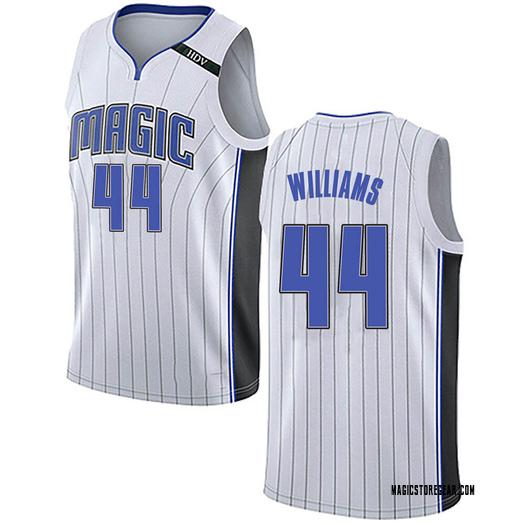 Men's Jason Williams Orlando Magic Nike Swingman White Jersey - Association Edition