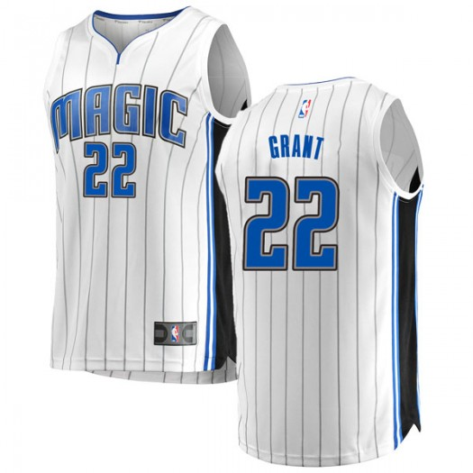 Men's Jerian Grant Orlando Magic Fanatics Branded Swingman White Fast Break Jersey - Association Edition