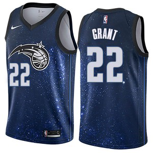Men's Jerian Grant Orlando Magic Nike Swingman Blue Jersey - City Edition