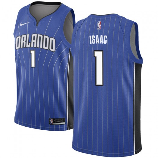 Men's Jonathan Isaac Orlando Magic Nike Swingman Royal Jersey - Icon Edition