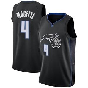 Men's Josh Magette Orlando Magic Nike Swingman Black 2018/19 Jersey - City Edition