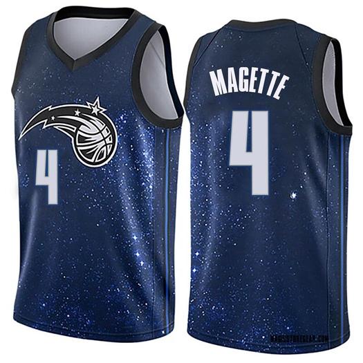 Men's Josh Magette Orlando Magic Nike Swingman Blue Jersey - City Edition