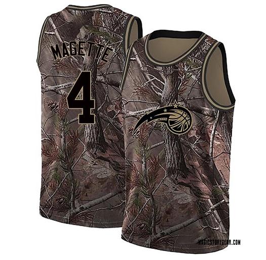 Men's Josh Magette Orlando Magic Nike Swingman Camo Realtree Collection Jersey