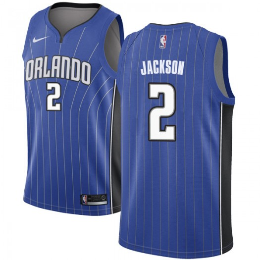 best loved 9931c 98a6b Big & Tall Men's Justin Jackson Orlando Magic Nike Swingman Royal Jersey -  Icon Edition
