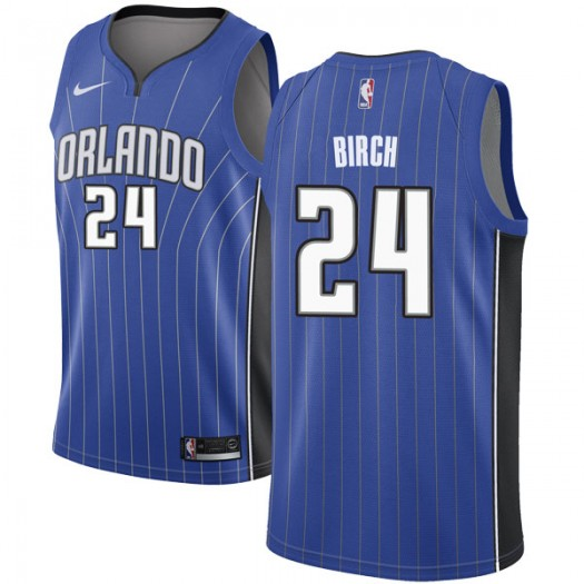 Men's Khem Birch Orlando Magic Nike Swingman Royal Jersey - Icon Edition
