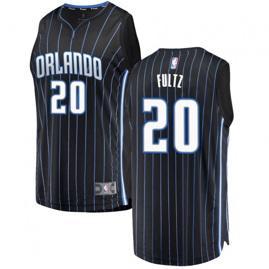 Men's Markelle Fultz Orlando Magic Fanatics Branded Swingman Black Fast Break Jersey - Statement Edition