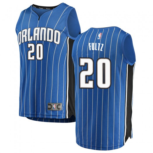 Men's Markelle Fultz Orlando Magic Fanatics Branded Swingman Blue Fast Break Jersey - Icon Edition