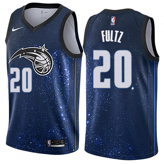 Men's Markelle Fultz Orlando Magic Nike Swingman Blue Jersey - City Edition