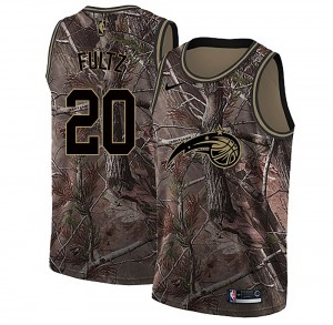 Men's Markelle Fultz Orlando Magic Nike Swingman Camo Realtree Collection Jersey