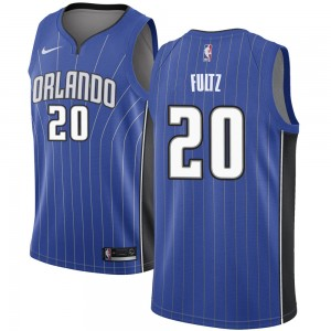 Men's Markelle Fultz Orlando Magic Nike Swingman Royal Jersey - Icon Edition