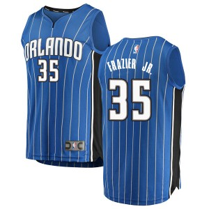 Men's Melvin Frazier Jr. Orlando Magic Fanatics Branded Swingman Blue Fast Break Jersey - Icon Edition