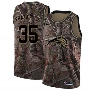 Men's Melvin Frazier Jr. Orlando Magic Nike Swingman Camo Realtree Collection Jersey