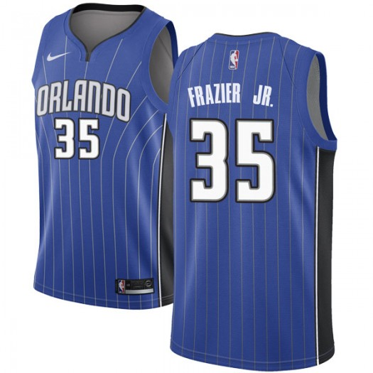 Men's Melvin Frazier Jr. Orlando Magic Nike Swingman Royal Jersey - Icon Edition